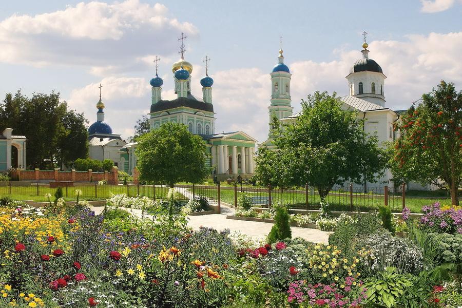 Оптина Пустынь крупнейший монастырь в России 6-10 апреля!