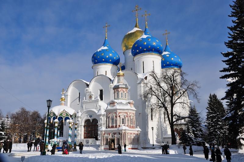 НОВЫЙ ИЕРУСАЛИМ, МОСКВА, СВЯТО-ТРОИЦКАЯ СЕРГИЕВА ЛАВРА 3-6 января!