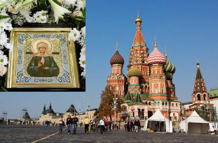Москва экскурсия + к св. блж. Матроне Московской! 8-10 марта